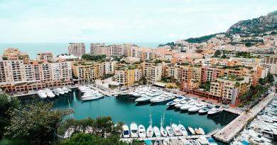 Monaco au sommet de l'Europe